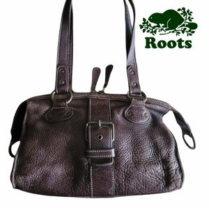 Roots Mini Leather Shoulder Bag